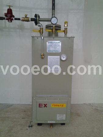 气化器LPG100公斤带电控箱式气化器